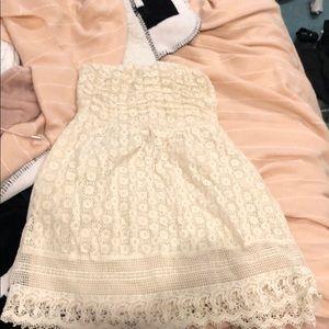 A off white dress